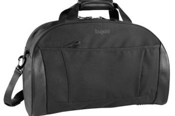 Schwarze Reisetasche von Bugatti