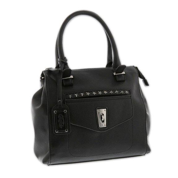 Handtasche Schwarze Handtasche Schwarze Buffalo Handtasche