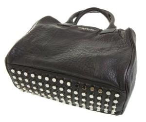 Schwarze Tasche mit Nieten von missbubu