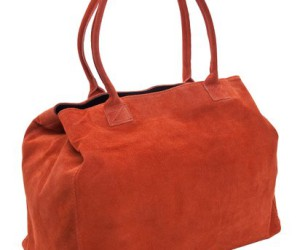 Casual Chic: Der Delara Shopper in Orange