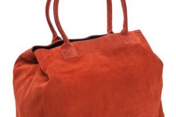 Casual Chic: Der Delara Shopper in Orange
