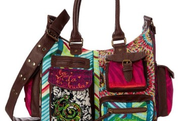 Bunte Desigual Tasche London M