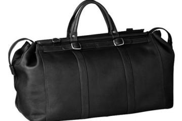 schwarze Reisetasche Mailand von Alpenleder