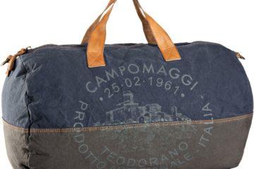 Der Sambuco C3762 Weekender von Campomaggi in Blau