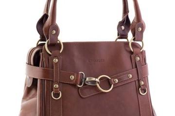 Braune Handtasche von Chiarugi