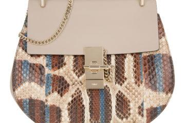 Die DREW Small Umhängetasche von Chloe in Grau