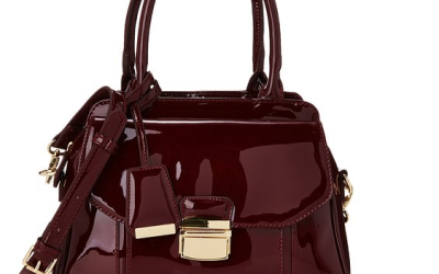 Clarks Marley May Henkeltasche in Burgundy