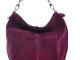 Der Hobo-Bag von CNTMP in Pflaume