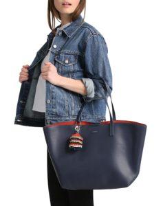Der SARA Shopper von Esprit in Blau