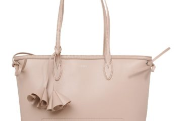 Der FLOWERS Shopper von Esprit in Rosa