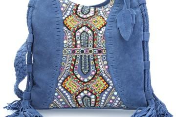 Blaue Umhängetasche Candy Boho von FredsBruder