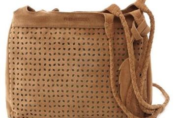 Beige Handtasche Strawberry Fields von Fredsbruder