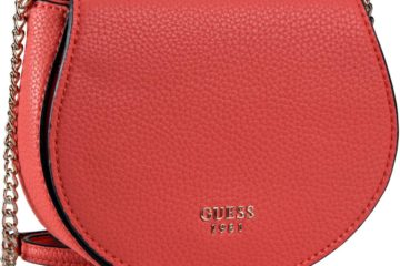 Die CATE Saddle Bag von Guess in Rot