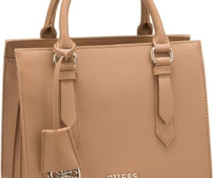 Die CHARME Satchel Bag von Guess in Braun.