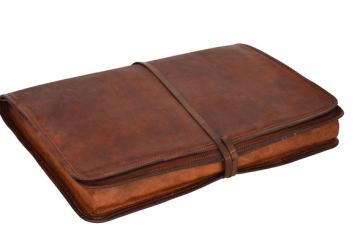 Die Laptop-Tasche von Gusti Leder nature