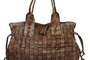 Brauner Shopper im Used-Look von IO.IO.MIO
