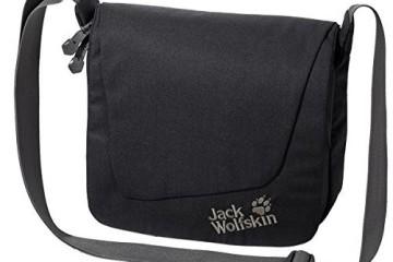 Jack Wolfskin Umhängetasche Rosebery in schwarz