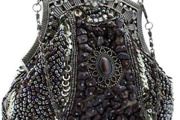 Abendtasche von KAXIDY aus Samen-Perlen