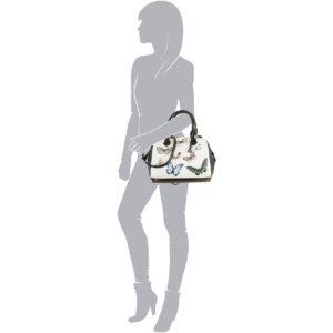 Die CYNTHIA Handtasche von L.CREDI in Bunt.