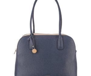 Die ELLIE Handtasche von L.CREDI in Blau.