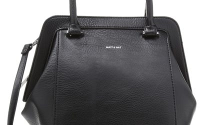 Die SHEENAN Handtasche von Matt & Nat in Schwarz