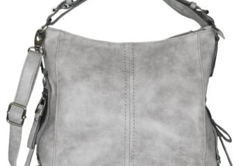 graue Handtasche von Mevina