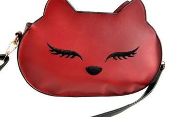 Rote Katzentasche von niceEshop