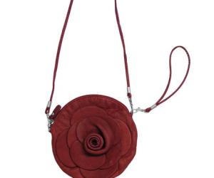 Die Umhängetasche in Rosen-Form von scarlet bijoux