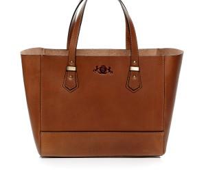TRISH Handtasche von Scotch & Vain in cognac