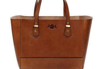 TRISH Handtasche von Scotch & Vain in cognac