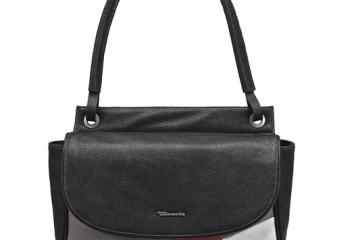 TAMARIS DALIA Handtasche Patchwork-Style in Vintage Optik