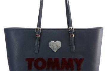 Die HONEY Shopping Bag von Tommy Hilfiger in Blau