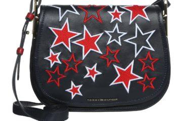 Die ICONIC Saddle Bag von Tommy Hilfiger in Schwarz