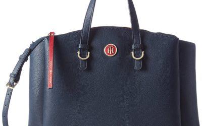 Die TH CORE Handtasche von Tommy Hilfiger in Blau