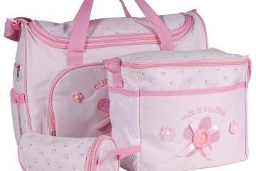Surepromise Wickeltasche Baby Pink