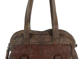 Braune Handtasche Maka von Wunschstück