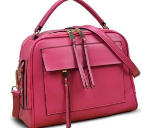 Yahoho Damen Schulter- und Handtasche in pink